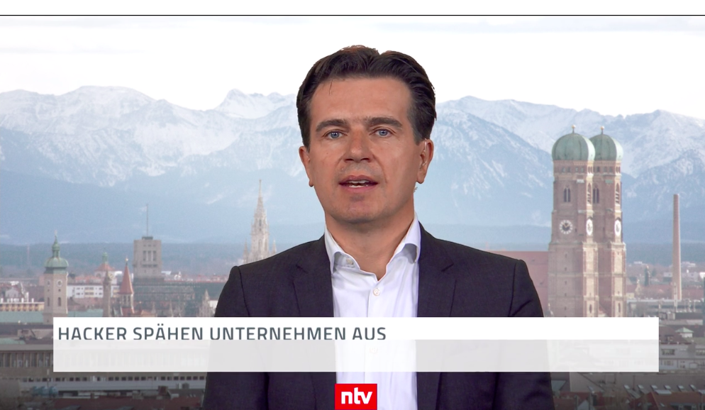 NTV Interview zum Thema Cybersicherheit in der Telebörse (24.07.2019)