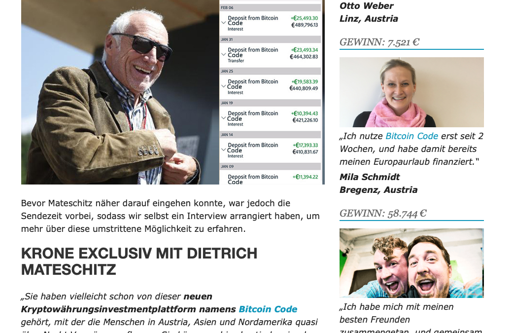Pressetext Austria zu FAKE ADVERTISING